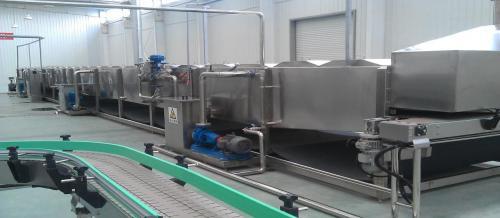 喷淋杀菌冷却机